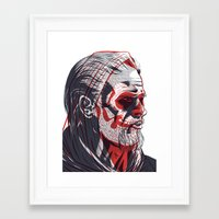 sons of anarchy Framed Art Prints featuring Duality - Sons of Anarchy by Steve Treadwell