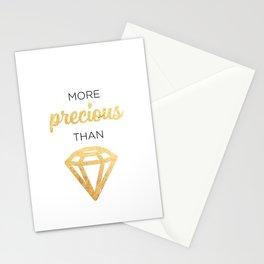 More Precious Than... Stationery Cards
