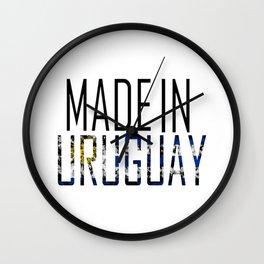 Made In Uruguay Wall Clock