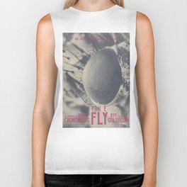The Fly, horror movie poster, David Cronenberg, Jeff Goldblum, alternative playbill Biker Tank