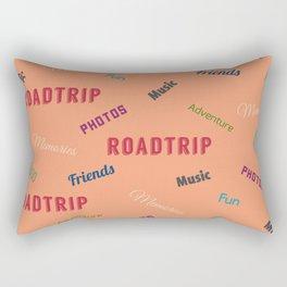 Roadtrip Adventures Rectangular Pillow