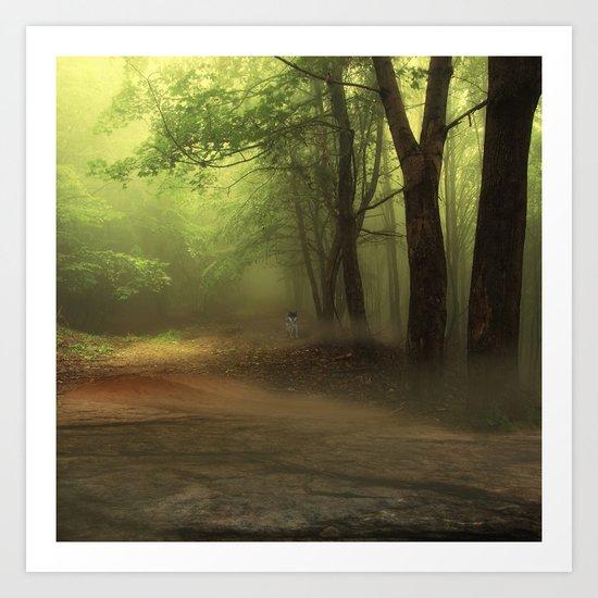 Mystical Forest (3) Art Print