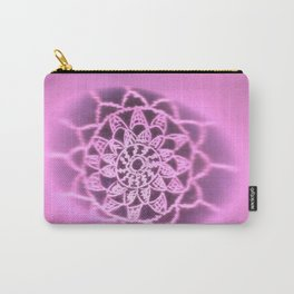 Oil on rock -- negative image -- pink Carry-All Pouch