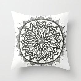 Zehra Mandala Throw Pillow