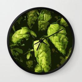 Hops Wall Clock