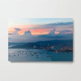 HONG KONG 02 Metal Print