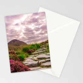 Ireland National Park Connemara Hiking Away Stationery Cards