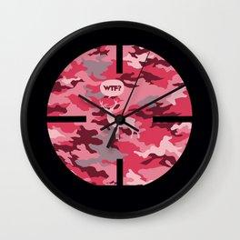 WTF? Ciervo! Wall Clock