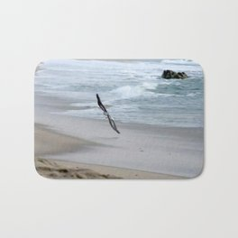 flying so close togther Bath Mat