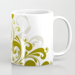 Abstract Floral 10 Coffee Mug