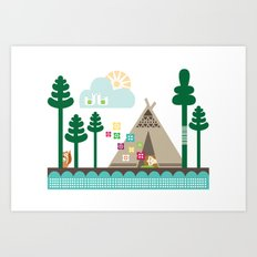 Midsummer Dreams Art Print