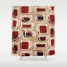 morning pattern Shower Curtain