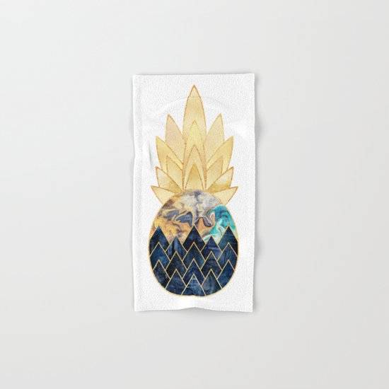 Precious Pineapple 1 Hand & Bath Towel