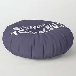 Save Water Shower Together Floor Pillow