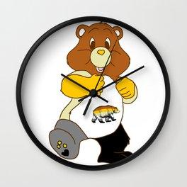 Big Sexy Bear Wall Clock