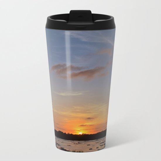 Floating.jpeg Metal Travel Mug