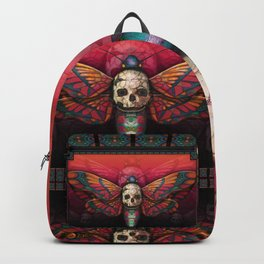 """Death colored moth"" Backpack"