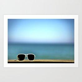 Summer Sunglasses Art Print
