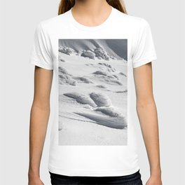 Frozen snow sculptures on Snežnik, Slovenia T-shirt