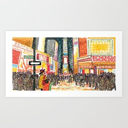Nana in the City Art Print