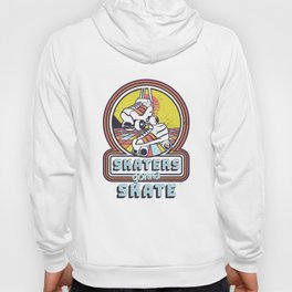 Classic 80s Style 70s Retro Skaters Gonna Skate Retro Disco Hoody