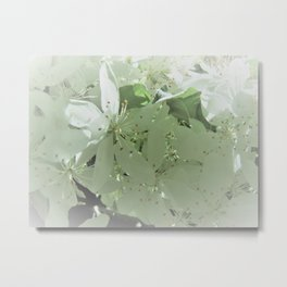 Soft Spring Blossoms Metal Print