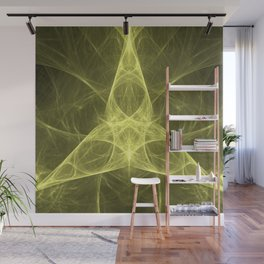 Ever-Flowing Spirit of the Infinite Triangle Wall Mural
