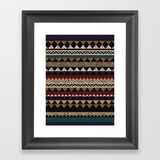 Sienna BISQUE Framed Art Print