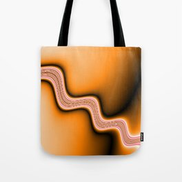 hot Stream Tote Bag