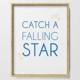 Catch A Falling Star Serving Tray