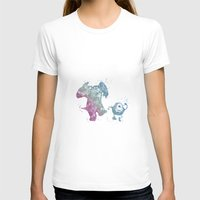 monsters inc T-shirts featuring Mike and Sully Monsters Inc. Disneys by Carma Zoe
