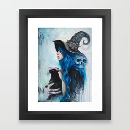Blue Valentine Framed Art Print