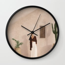 City Walls II Wall Clock