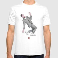 Pee Wee Herman #2 Mens Fitted Tee MEDIUM White