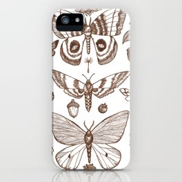 Natural History (Brown) iPhone Case