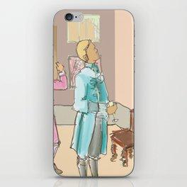 18th century London iPhone Skin