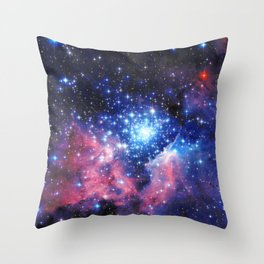Extreme Star Cluster Throw Pillow