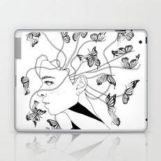 Figments II (Head Full of Broken Realities) Laptop & iPad Skin