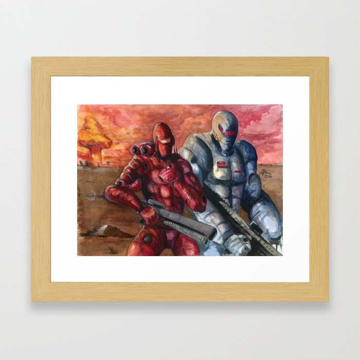 The Doomsday Squad Framed Art Print
