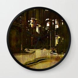 Spiritual Cathedral inner clock Wall Clock