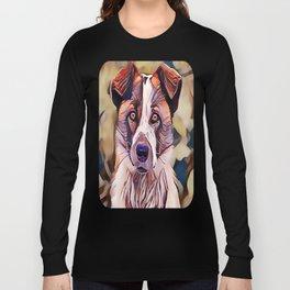 The Norwegian Elkhound Long Sleeve T-shirt