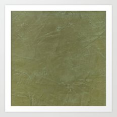 Italian Style Tuscan Olive Green Stucco - Luxury - Comforter - Bedding - Throw Pillows - Rugs Art Print