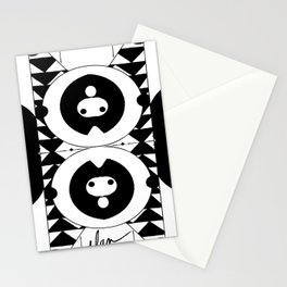 Random Colorings I Stationery Cards