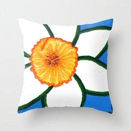 Daffy Dill Throw Pillow
