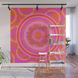 Mandala geometria en movimiento Glojag Wall Mural