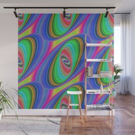 Ellipse pattern Wall Mural