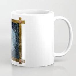 Faded Blue Eye Artifact Coffee Mug