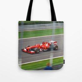 Fernando Alonso - 2013 Gran Premio d'Italia Tote Bag