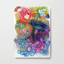 Happiness and Love Metal Print