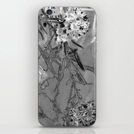 Dead Flowers iPhone Skin